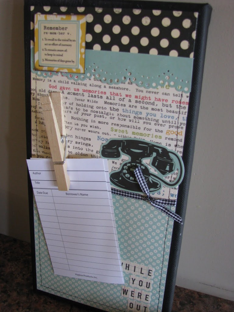 phone message board