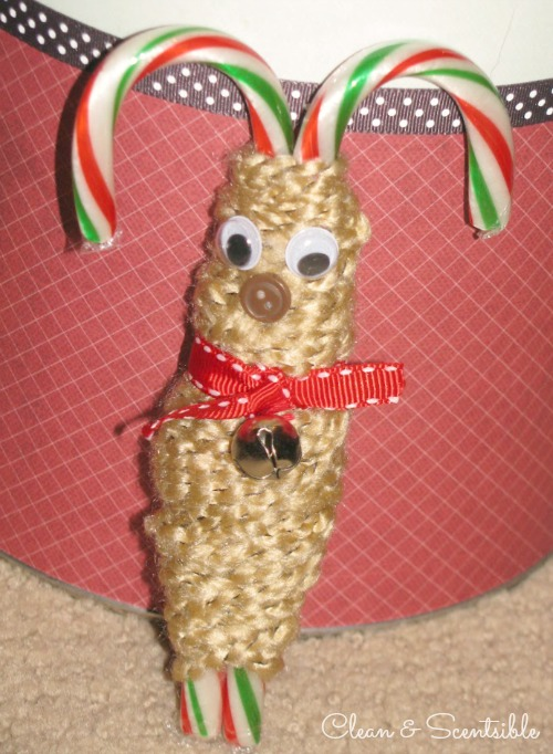 Candy Cane Reindeer - so simple!