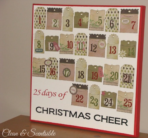Christmas Activity Advent Tutorial