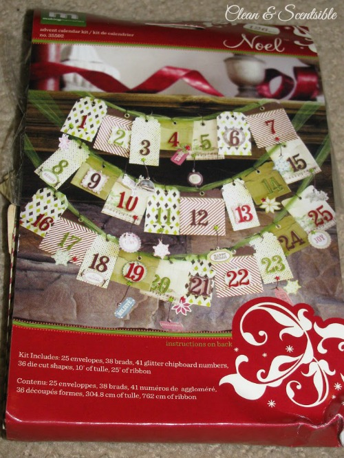 Christmas Activity Advent tutorial.