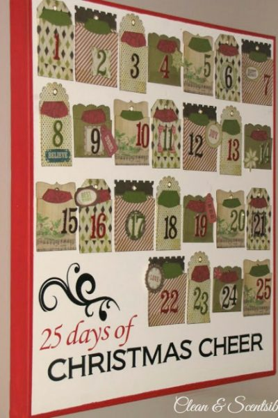 Cute Christmas Activity Advent Calendar tutorial.