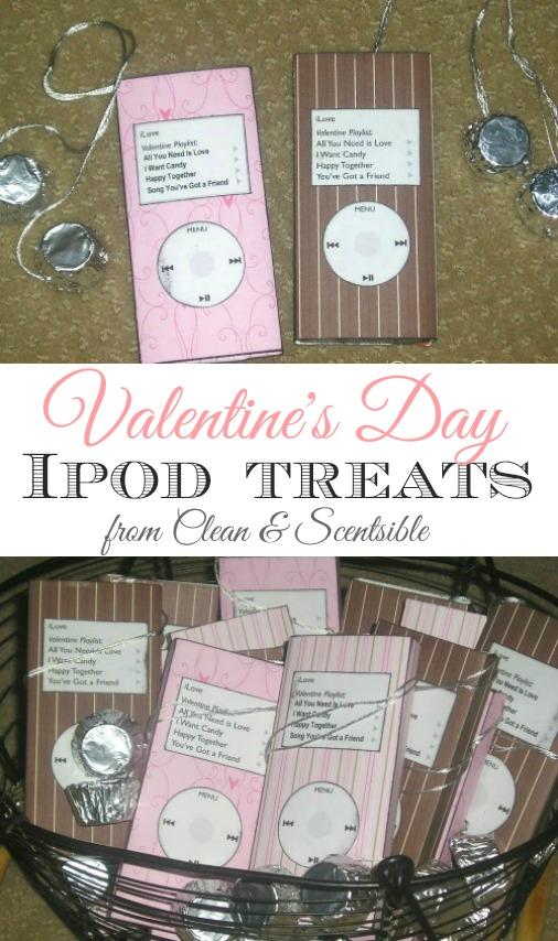 Valentine's Day Ipod Treats.