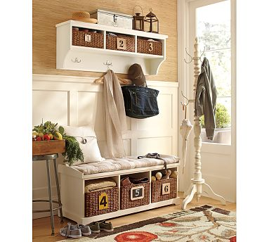 mudroom and front entry ideas - clean and scentsible