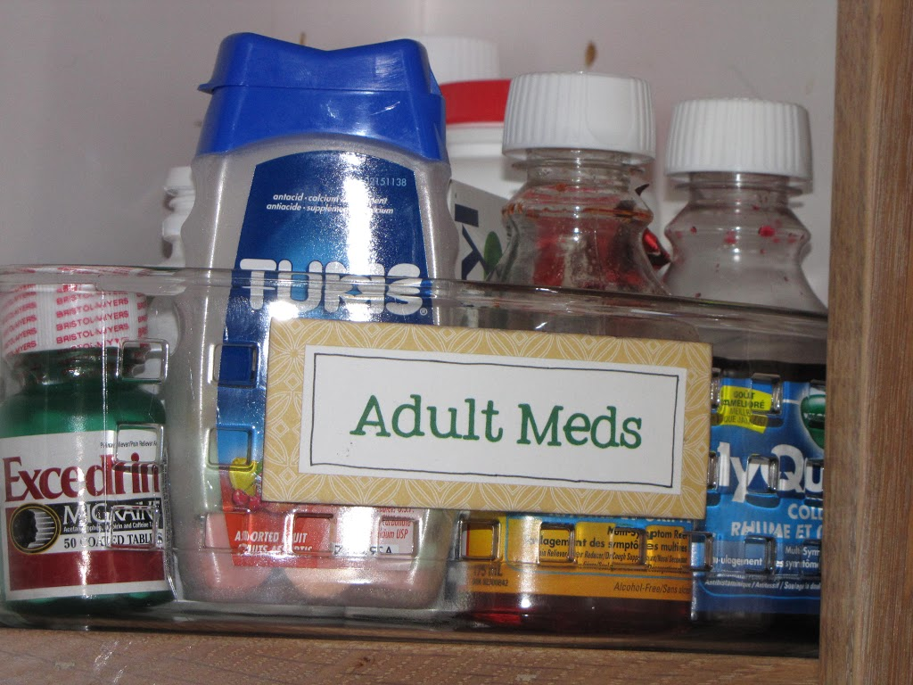 Hospital Medicine Cabinet Organize Everything The Medicine Cabinet Clean And Scentsible
