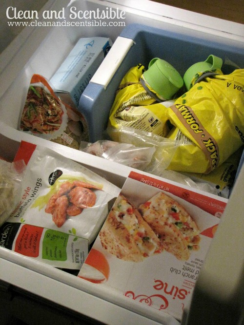 Lots of tips and tricks to help keep your fridge and freezer organized!