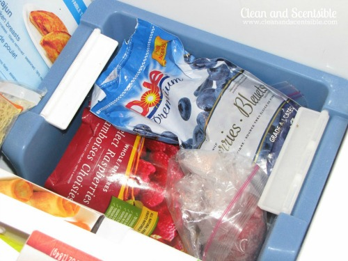 Lots of tips and tricks to help keep you fridge and freezer organized!