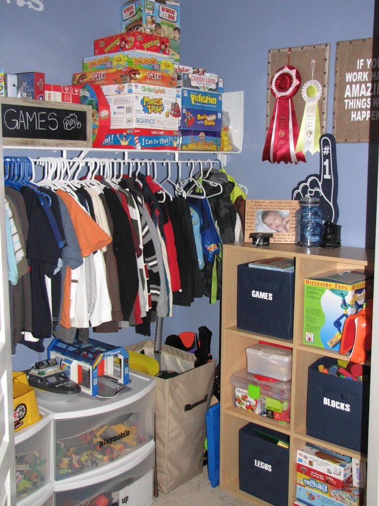 Organize Everything Kids Closets