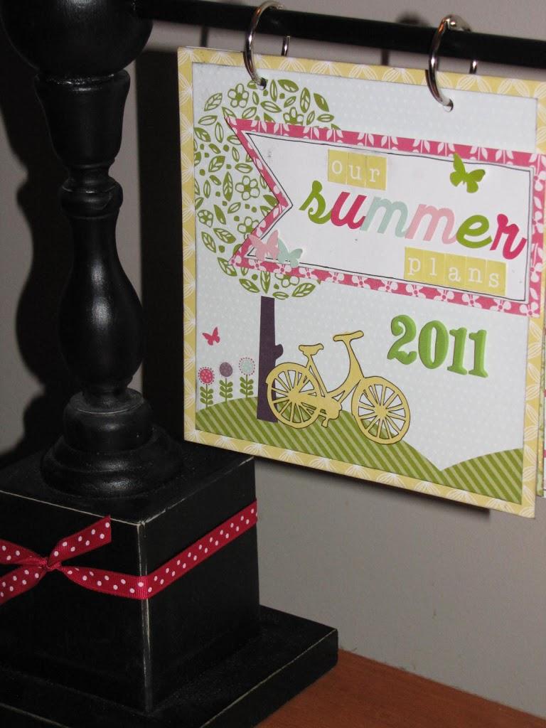Scrapbook ideas list - Summer To Do List