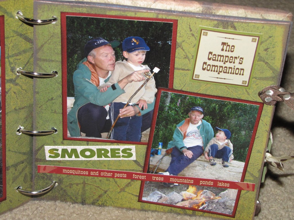 How to scrapbook without pictures