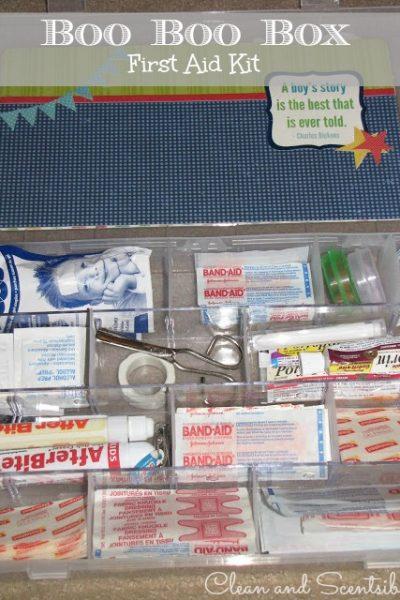 Boo Boo Box {First Aid Kit}