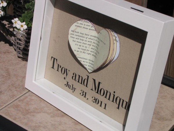 Personal Wedding Gifts For The Bride: Personalized Wedding Gifts