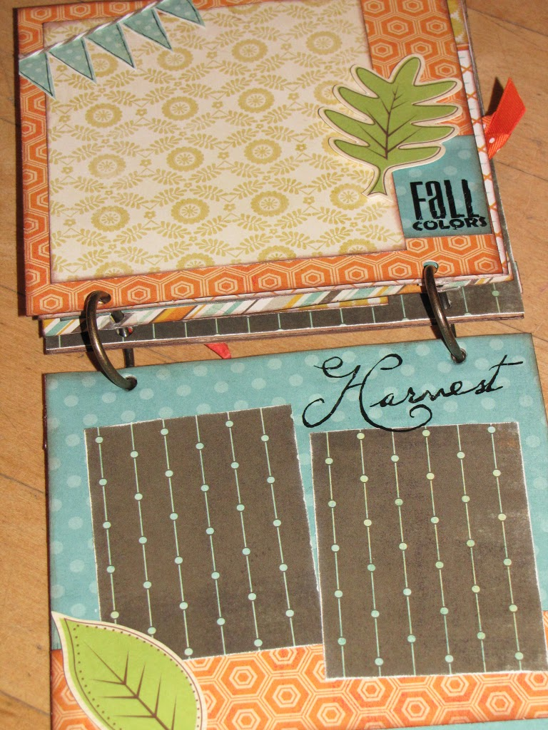 How to put scrapbook back together - I Am A Big Fan Of Mini Albums They Are Quick To Put Together And Can Hold A Whole Season Of Memories In One Little Book It S Always Fun To Look Back