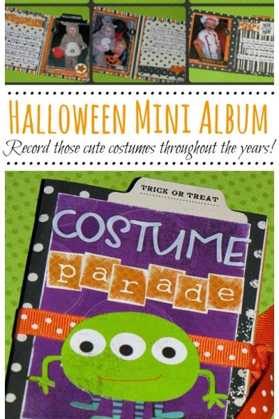 Halloween Mini Albums