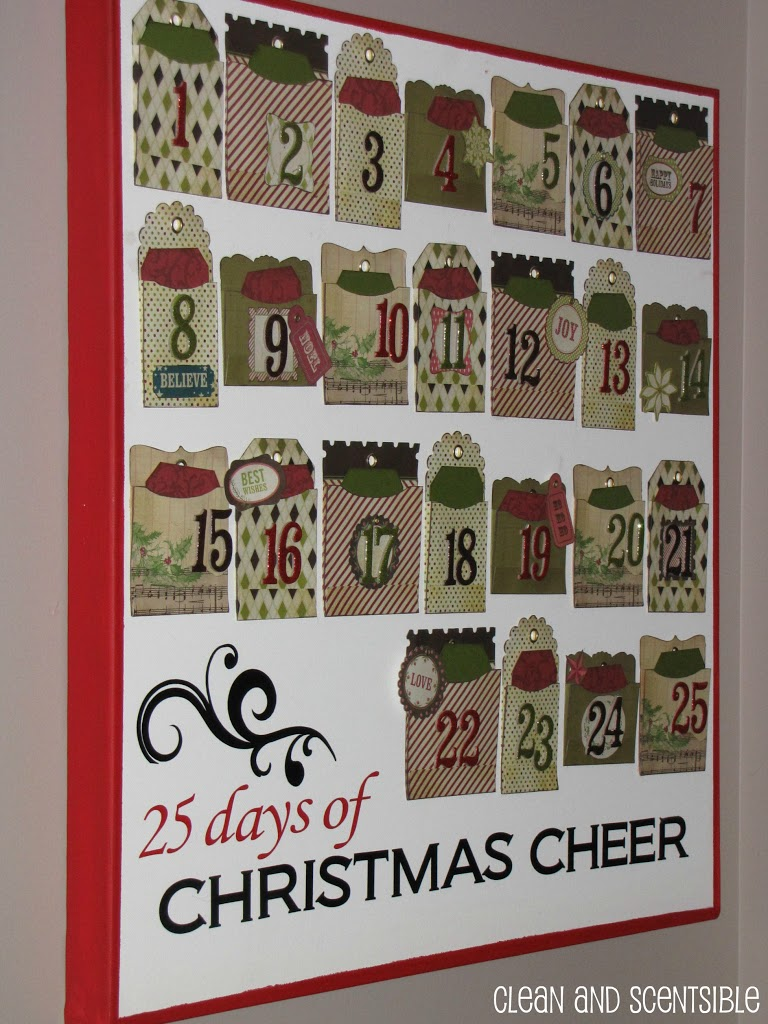 Kids Christmas Calendar Ideas : Advent calendar activities clean and scentsible