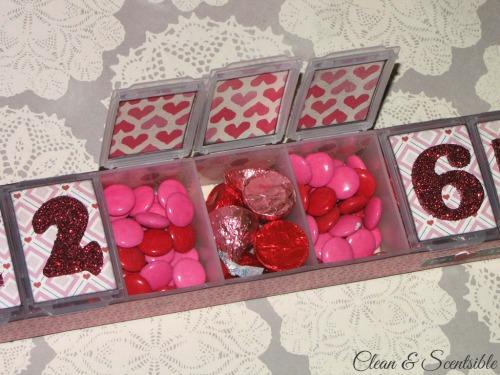 Easy Valentine's Day countdown.