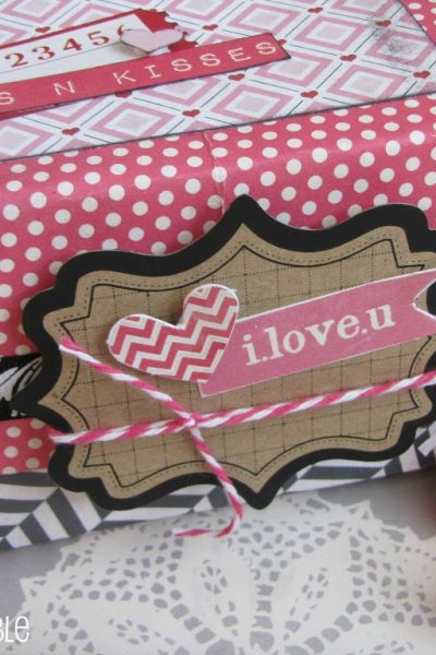 DIY Valentine's Day Treat Box