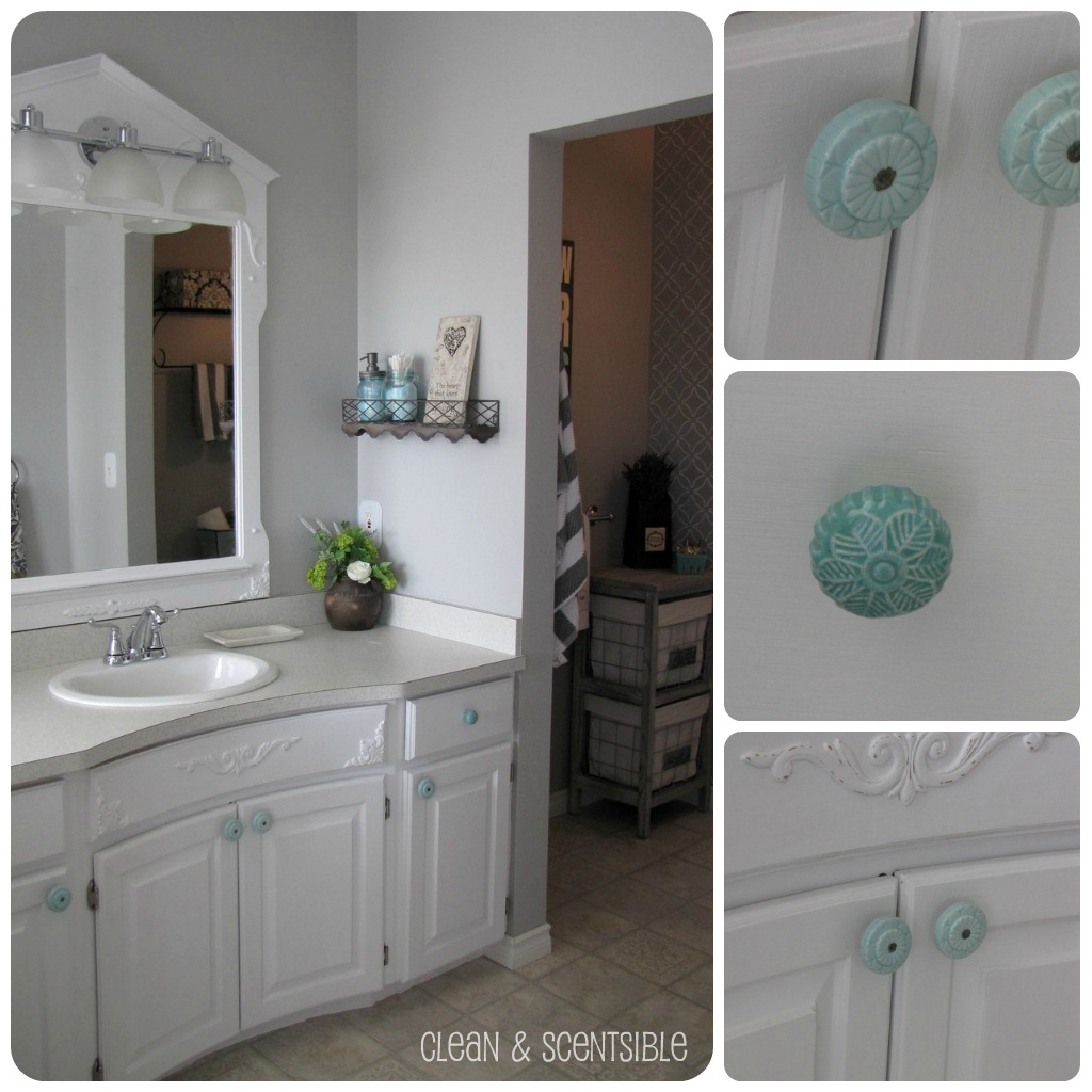 Annie sloan chalk paint bathroom cabinets -  Three Re Paintings Which Is One Of The Reasons That This Project Took So Long To Complete I Originally Painted Them With Annie Sloan Chalk Paint In