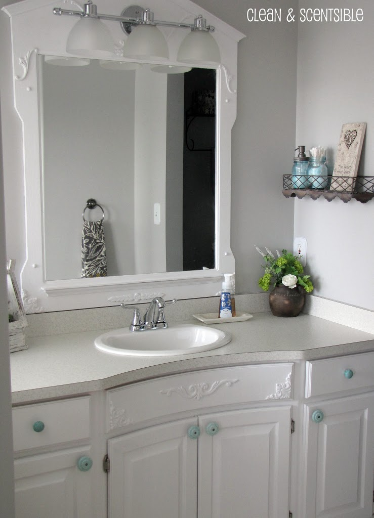 Clean A Bathroom Plans master bathroom  part 2  clean and scentsible