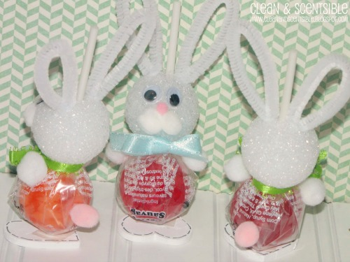 These Easter Bunny suckers are too cute!