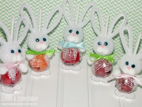 Love these cute Easter Bunny suckers!