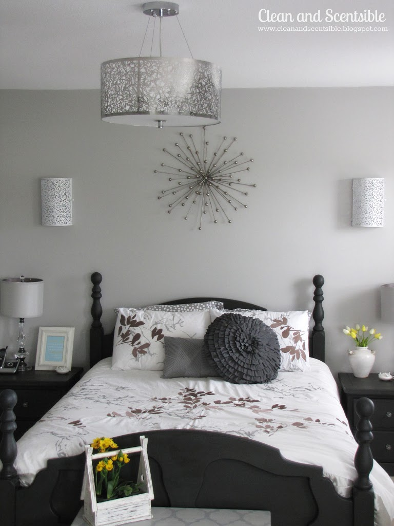Master bedroom makeover clean and scentsible for Master bedroom paint ideas 2012