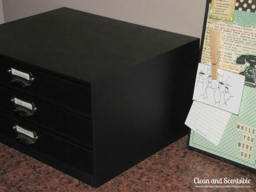 Paper organization system.