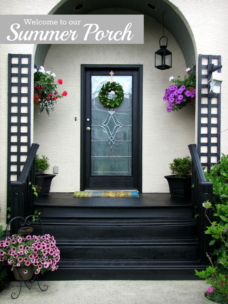 Front door ideas summer - Summer Patio