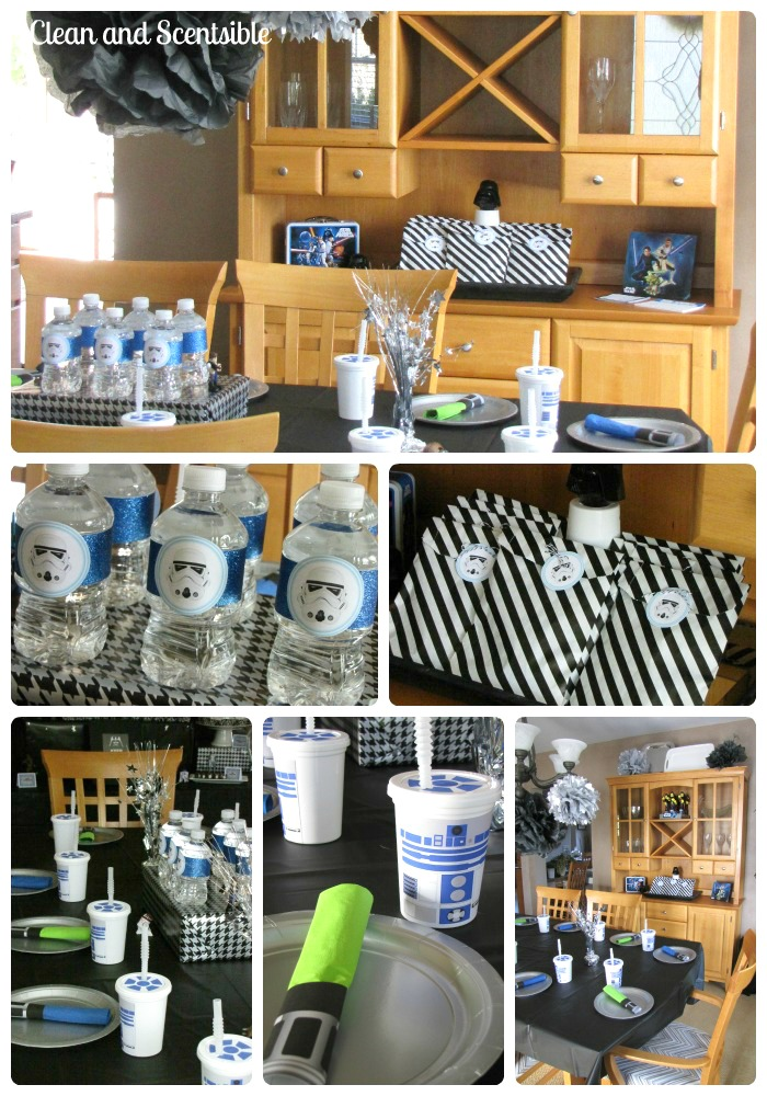 Star wars party decor clean and scentsible for Star wars dekoration