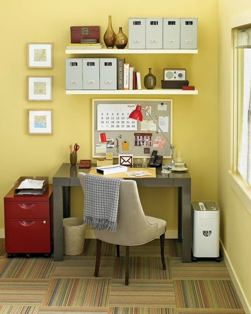 How to tackle all of that paper clutter!