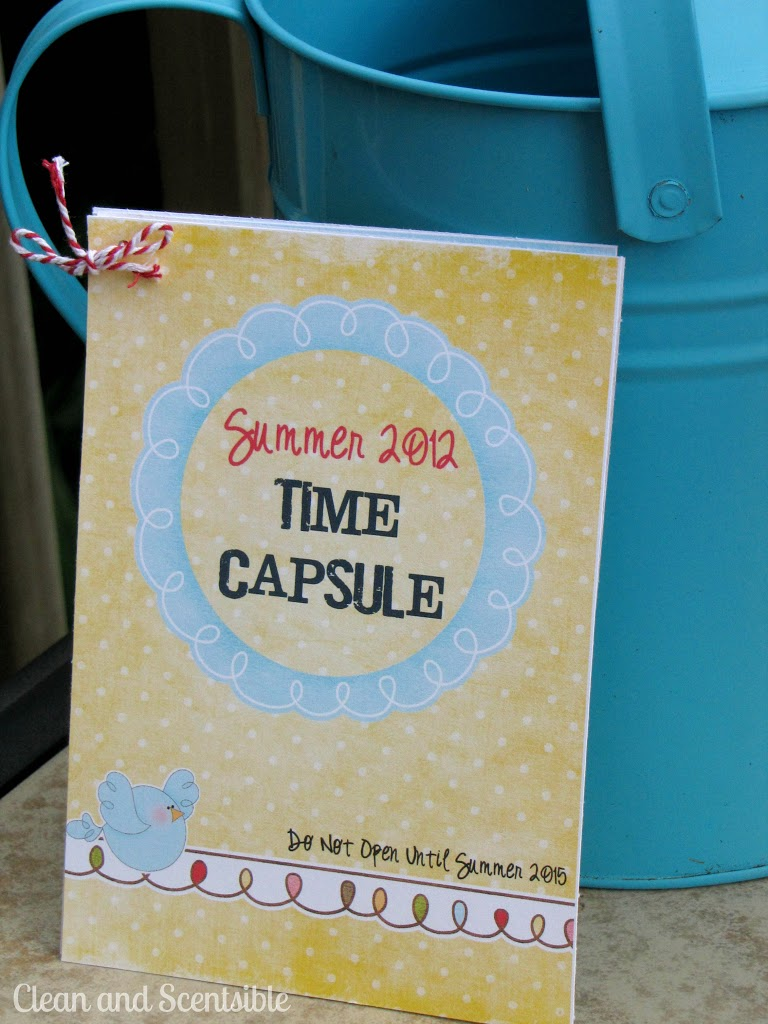 Summer Time Capsule {FREE Printables}