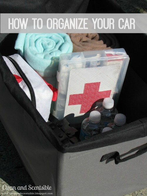 Tips and tricks to organize and clean your car!