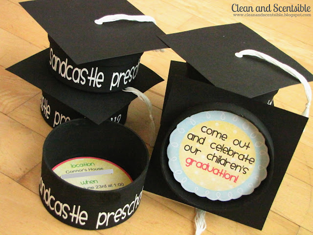 Preschool Graduation Party Clean And Scentsible - Graduation party invitations ideas