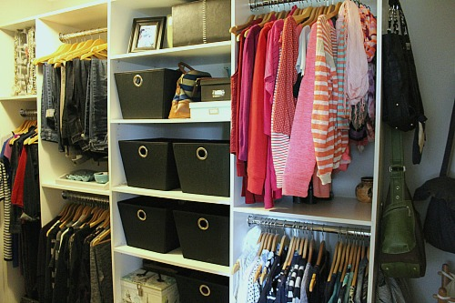 Great post on how to organize your master closet. Lots of practical tips. // cleanandscentsible.com