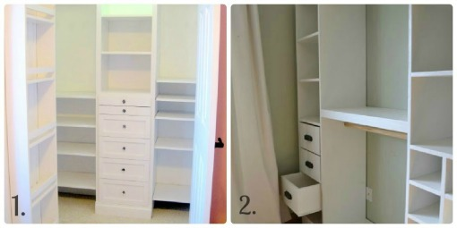 Great ideas to help get your master closet organized!