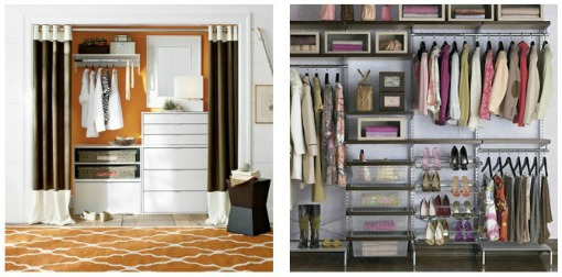 Great closet organization tips and ideas. // cleanandscentsible.com