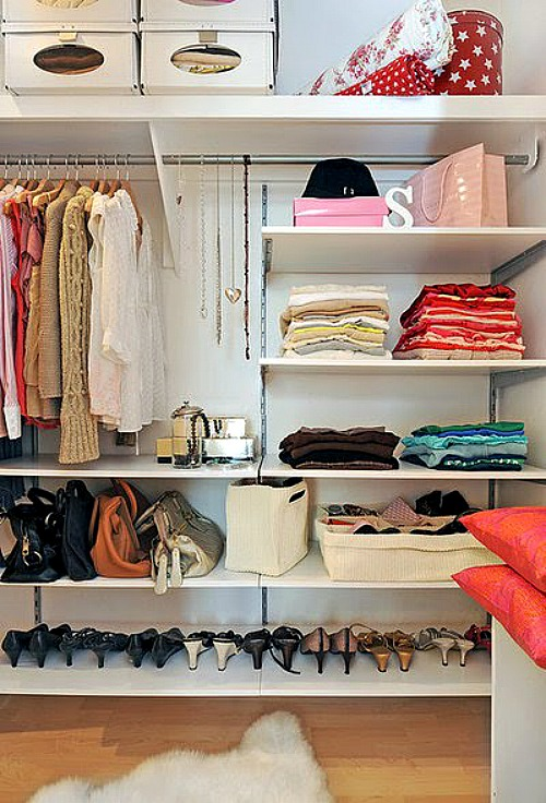 Closet Organization Tips - Part 1 - Clean and Scentsible
