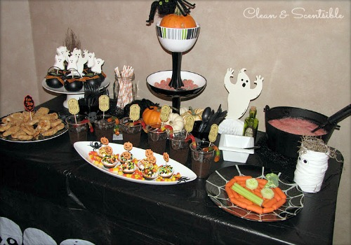 tons of halloween party ideas food decor games and kids crafts