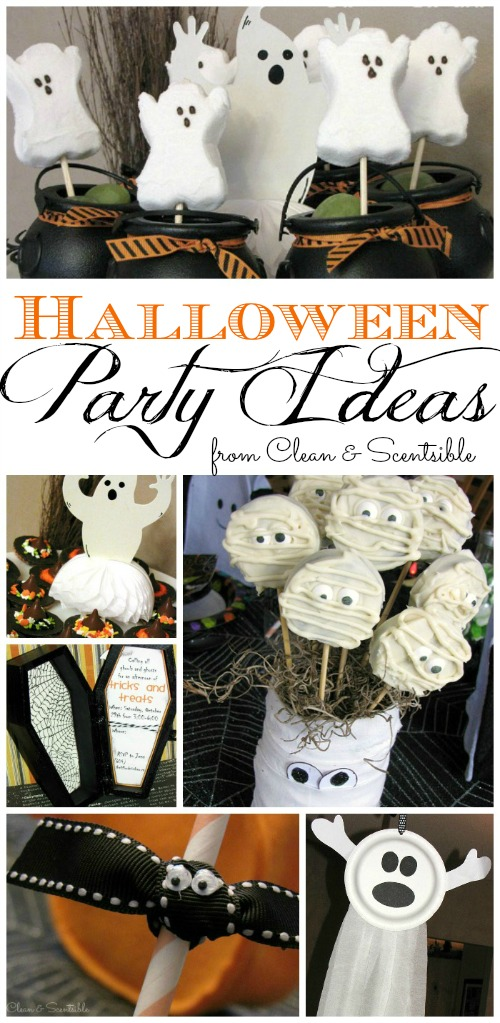Halloween party ideas clean and scentsible for Where to have a halloween party