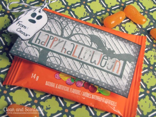 Cute Halloween Printables - perfect for Halloween class treats!