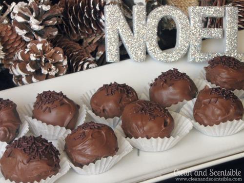 Chocolate Oreo Cheesecake Balls.  YUM!!!