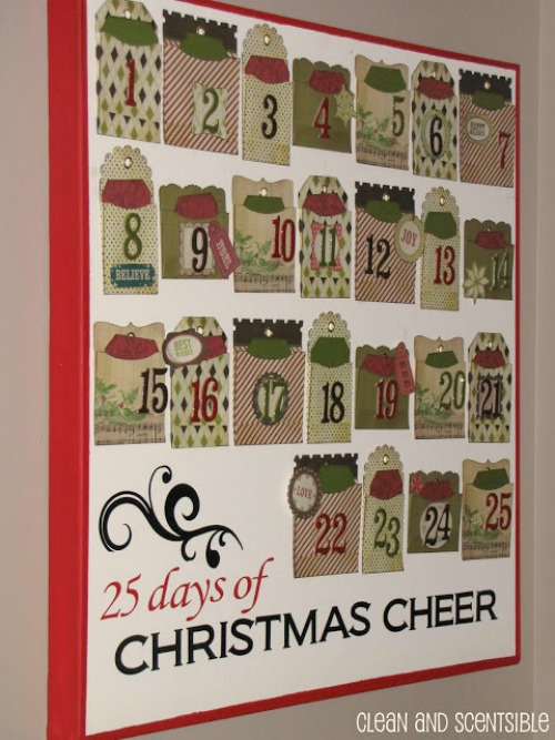 Advent Calendar Art Lesson : Advent christmas activities for kids clean scentsible