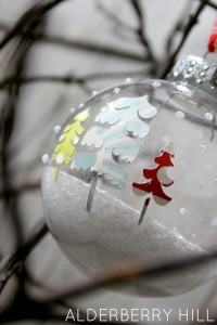 Snow & Trees Ornament 5