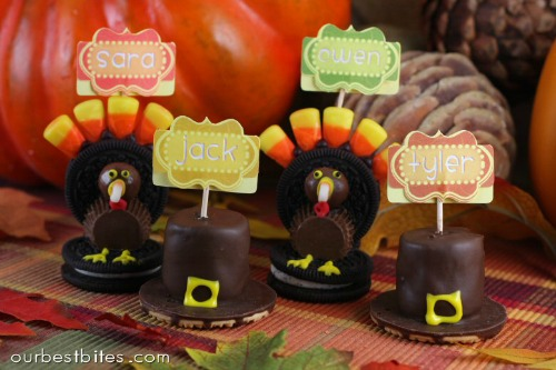 Lots of fun Thanksgiving treat ideas!