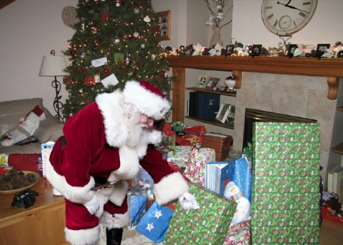 Catch Santa in the act and lots of other fun kids Christmas activities!