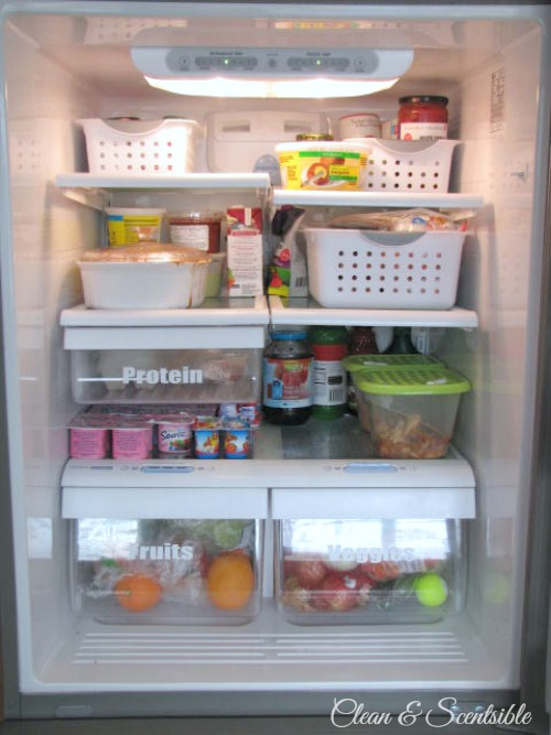 Top Organization Projects of 2012: How to organize your fridge.