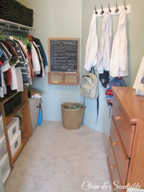 Top Organization Projects of 2012: Kids Closet Organization