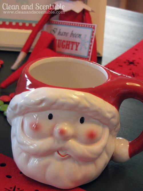 Elf on the Shelf Welcome Breakfast ideas.  #elfontheshelf #christmas