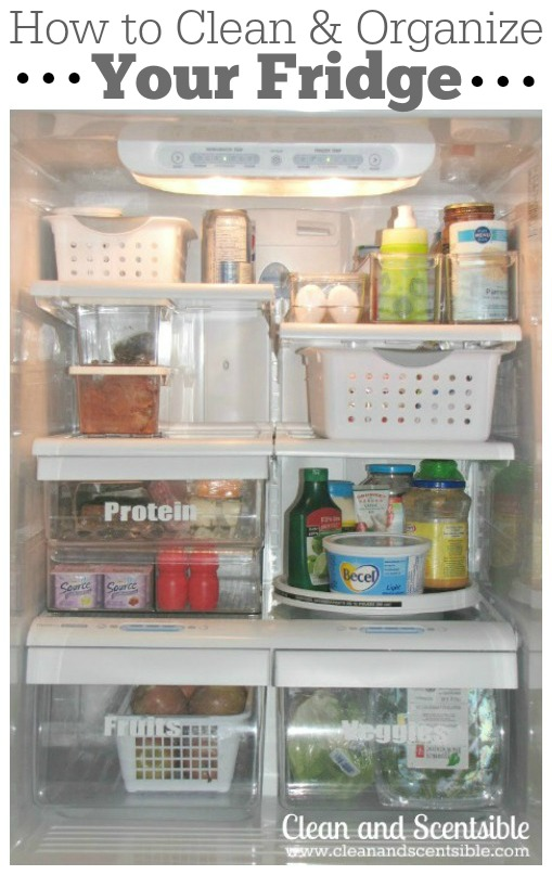 Great tips for cleaning and organizing the fridge and freezer!