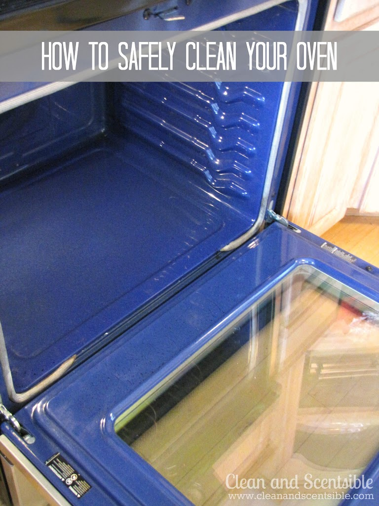 How To Clean Your Oven Safely Clean And Scentsible