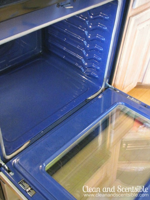 How to clean your oven without harsh chemicals.